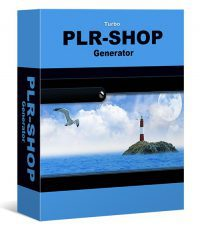 PLR Shop Generator, 50 Digitale Produkte