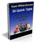 affiliatetipss, 90 Quick Tipps