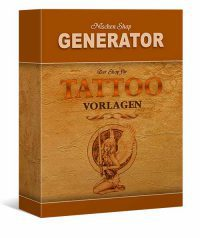 tattoo shop generator für das eigene online business, 50 Digitale Produkte