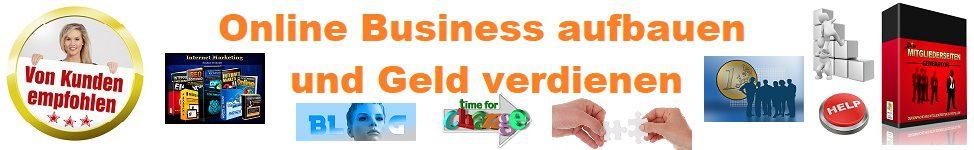 Online Business aufbauen + Geld verdienen